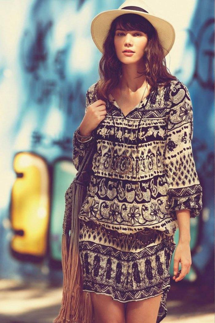 Style hippie robe boheme chic style boheme sac boheme chic cool idée comment s habiller style hippie