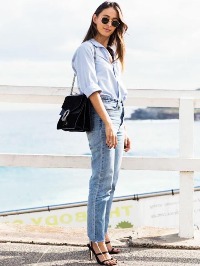 Tenue femme mince tenue classe femme savoir s habiller bien jean