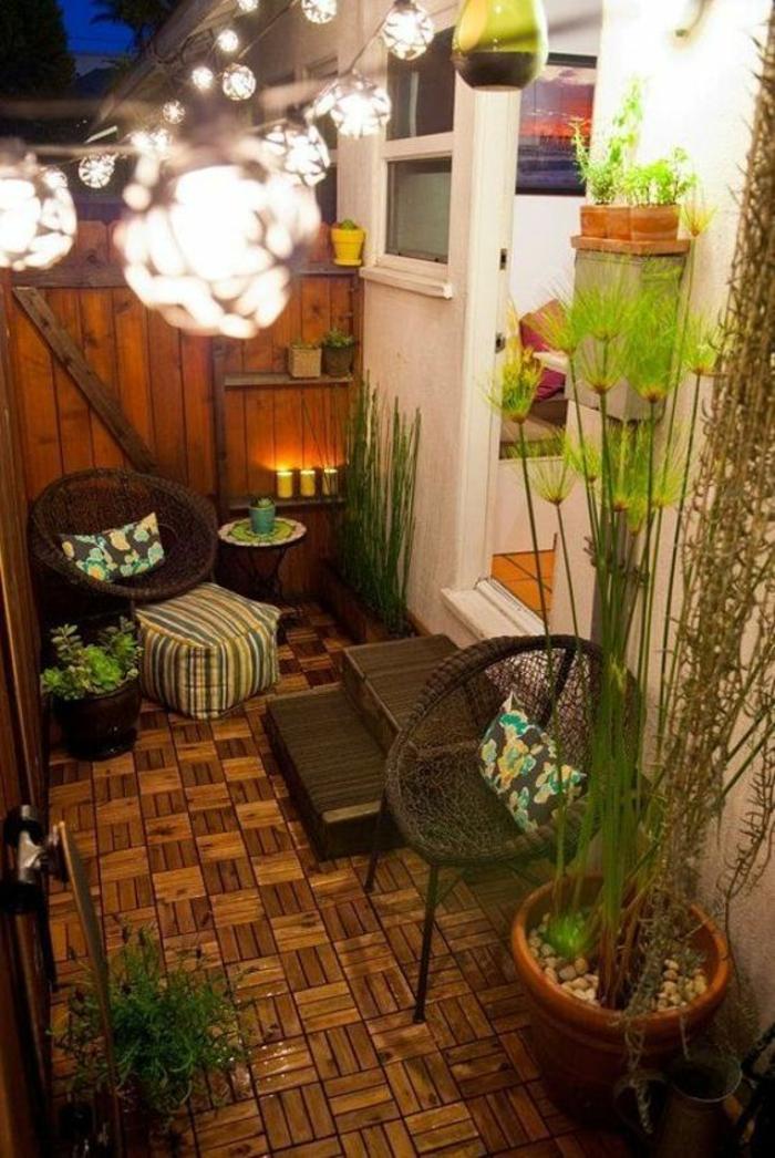 terasse couverte modele solution petit espace meubles de terrasse et de jardin