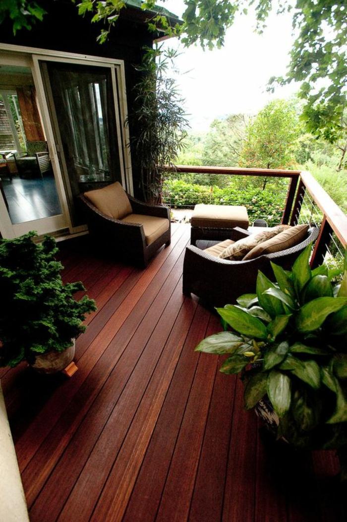 terrasse couverte modele de terrasse design et coin cosy