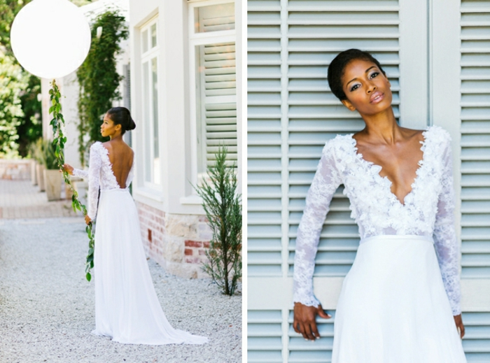 Une belle robe mariée bohème chic robe mariee boheme cool