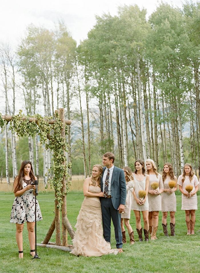 Bouquet de table pour mariage deco florale pour mariage cool idée mariage cérémonie