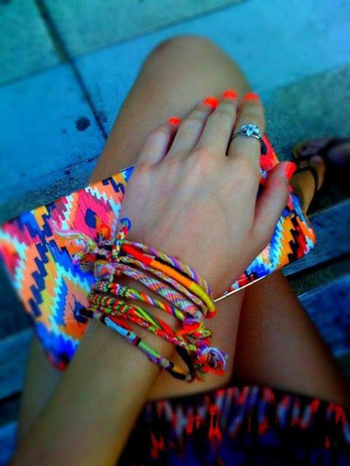 vêtements ethniques, porte monnaie style ethnique, bracelets ethnique chic