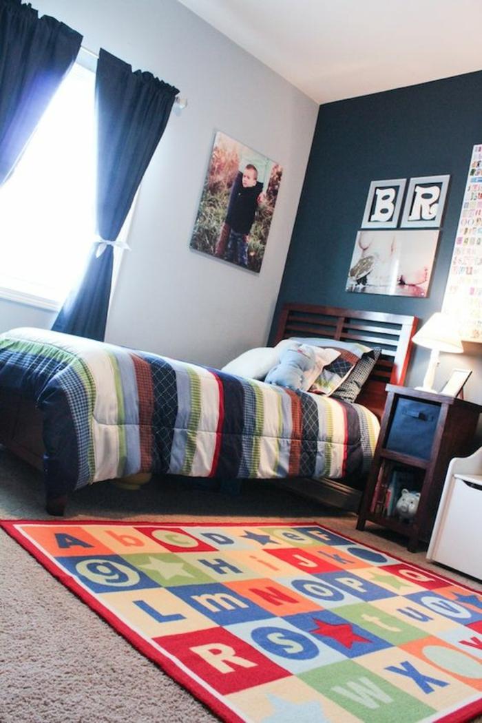 Perfect deco chambre ado garcon haute en couleurs avec for Couleur mur chambre ado garcon