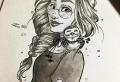 Il est venue le temps pour un dessin fille – voyez les exemples inspiratrices et explorez votre créativité!