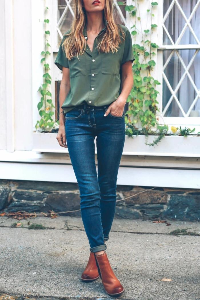 jeans avec bottes. Black Bedroom Furniture Sets. Home Design Ideas