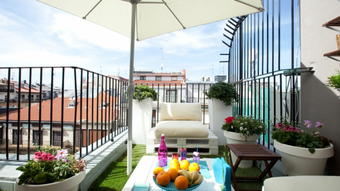 Best salon de jardin petit balcon images awesome for Salon balcon