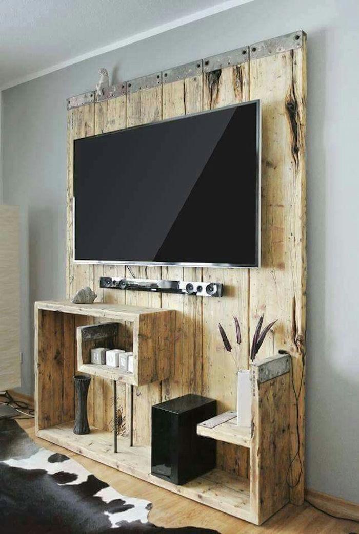 Ides  Meuble Tv Palette  Le Recyclage En Chane