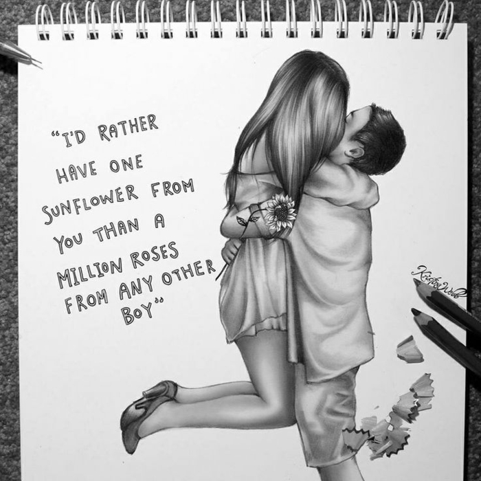 Idee dessin jeune fille dessin fille swag image de dessin d'une fille adorable couple photo