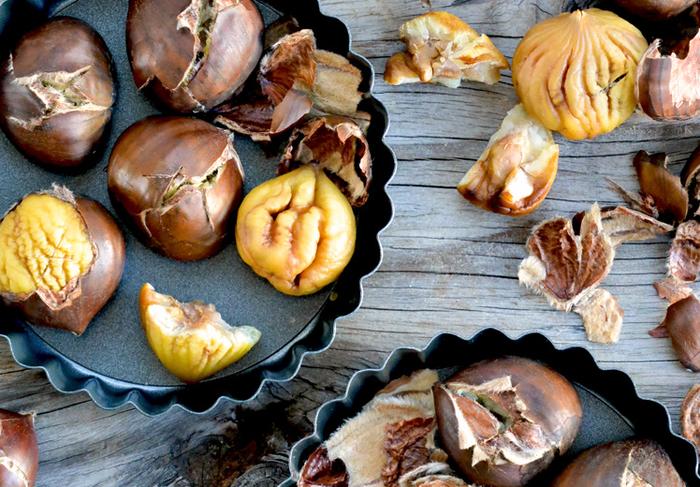 idées gourmandes que faire avec des chataignes, recettes à base de châtaignes ou à la farine de marrons