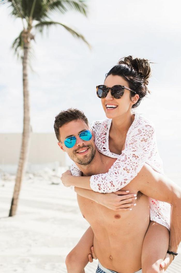 Pose plage image romantique plage photo de l amour plage couple