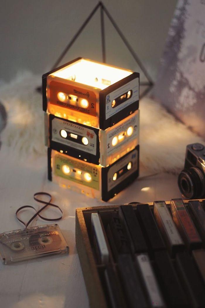diy lampe de chevet 80 projets r ussis avec tutos. Black Bedroom Furniture Sets. Home Design Ideas