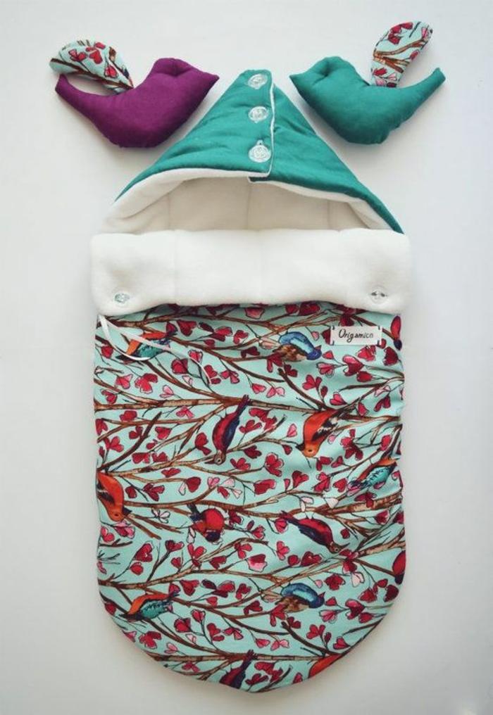 cadeau de naissance original fait maison excellent panier de rangement corbeille souple bleu. Black Bedroom Furniture Sets. Home Design Ideas