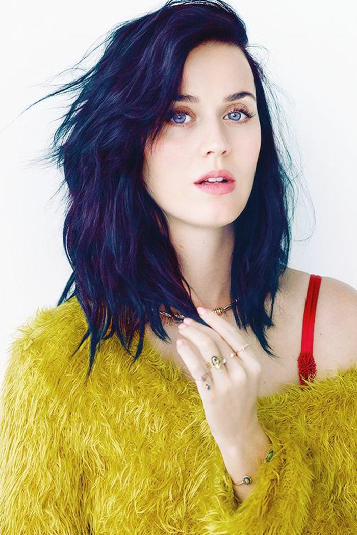 quelle coupe de cheveux longueur moyenne en couleur foncée