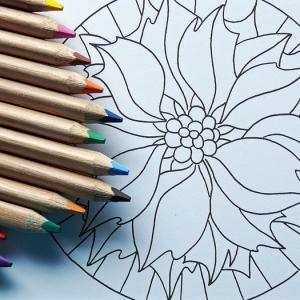 Lâchez prise avec nos modèles de dessins mandala à imprimer et à colorier
