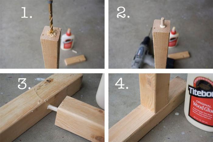 tuto facile pour réaliser des éléments décoratifs en bois, comment relooker un meuble en bois sans dépenser beaucoup d'argent