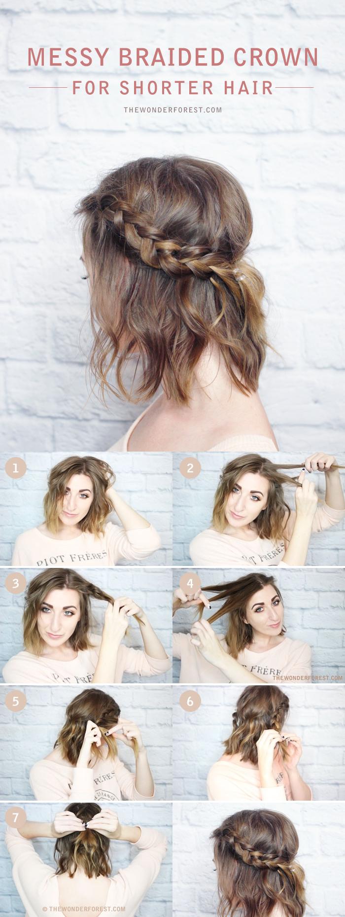 1001 id es comment coiffer des cheveux courts - Comment couper des parties d une video ...