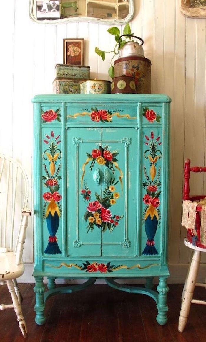 Comment customiser un meuble en bois for Meuble customise peinture