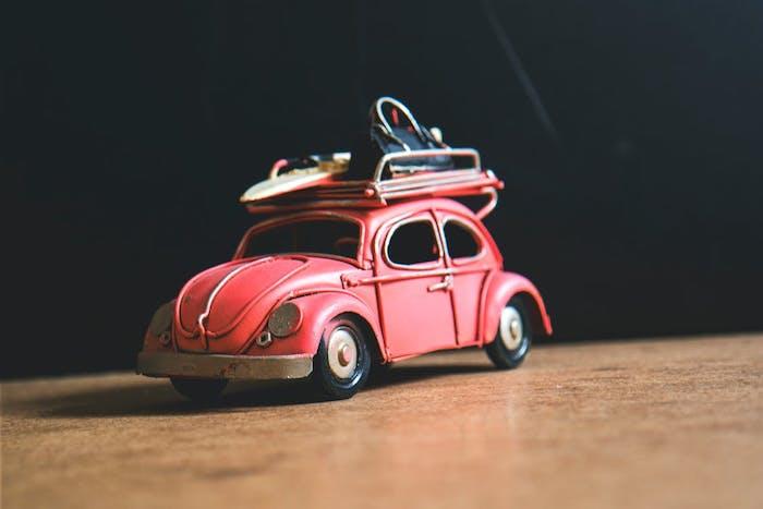 voiture miniature jouet cooper pour compléter la collection de mini modèles de voitures rétro, cadeau fête des grands pères