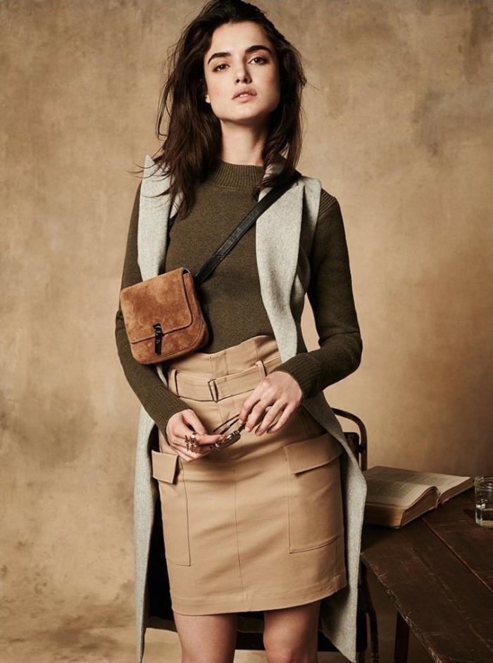 Chemise longue femme zara robe blouse robes chemisier tenue jupe et pull comment s habiller en hiver