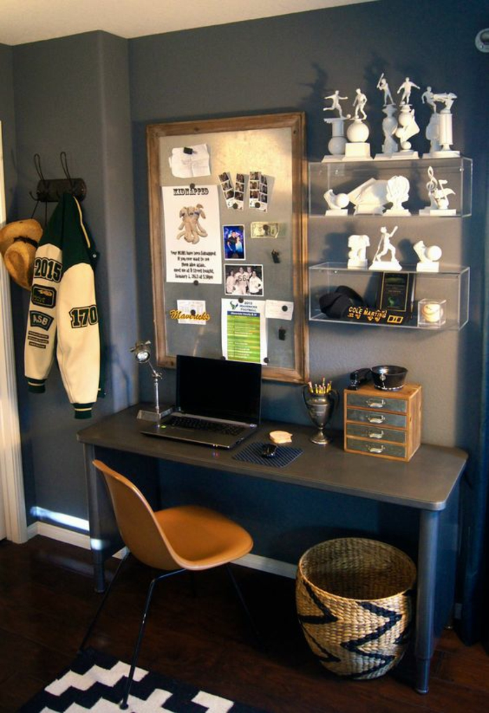 1001 id es pour chambre d ado gar on les int rieurs qui sont d 39 actualit. Black Bedroom Furniture Sets. Home Design Ideas