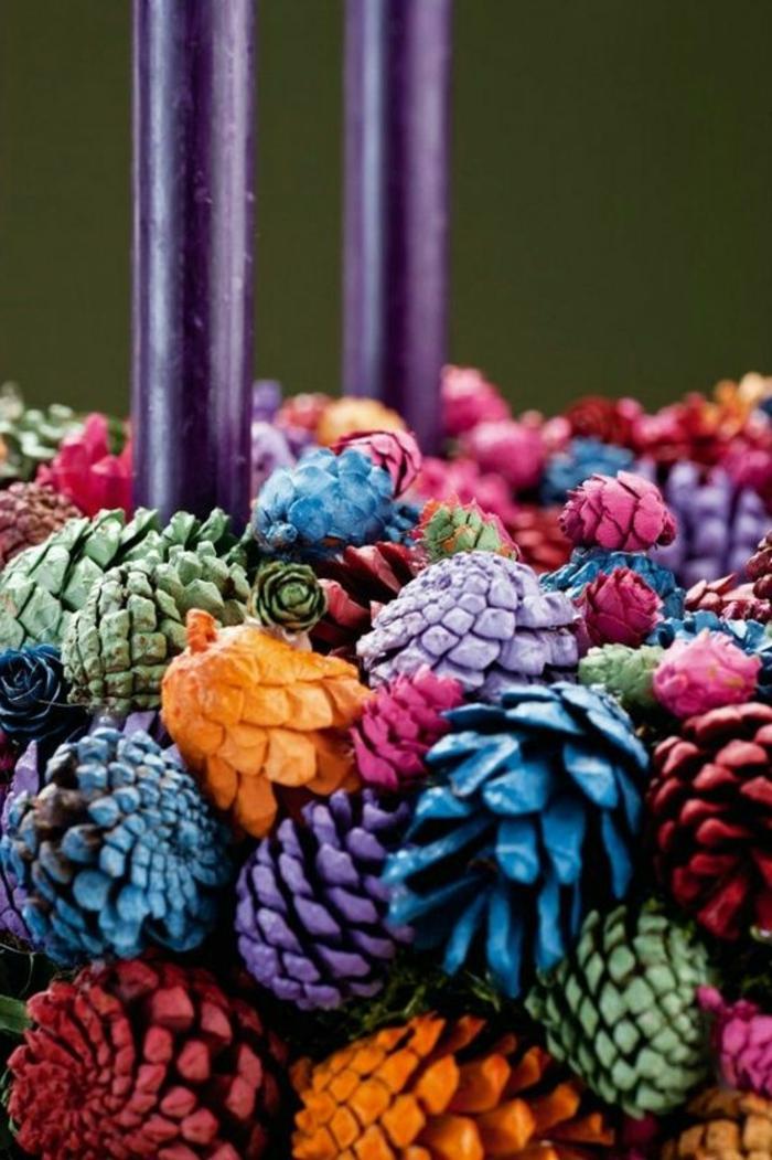 décoration de noel à faire soi-même, que faire avec les dons de la nature