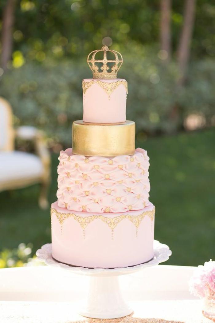 Decoration gateau princesse gâteau d anniversaire princesse gateau de mariage magnifique