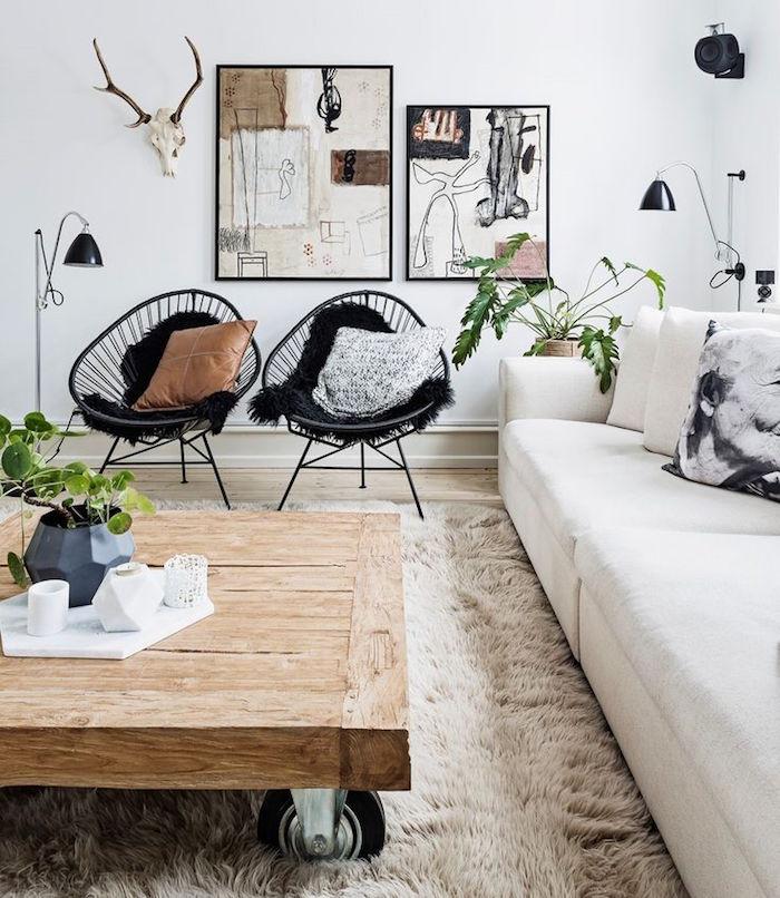 idée décoration nordique deco suedoise design et salon scandinave