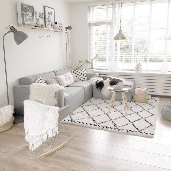 Deco salon scandinave taupe - Idee deco salon scandinave ...