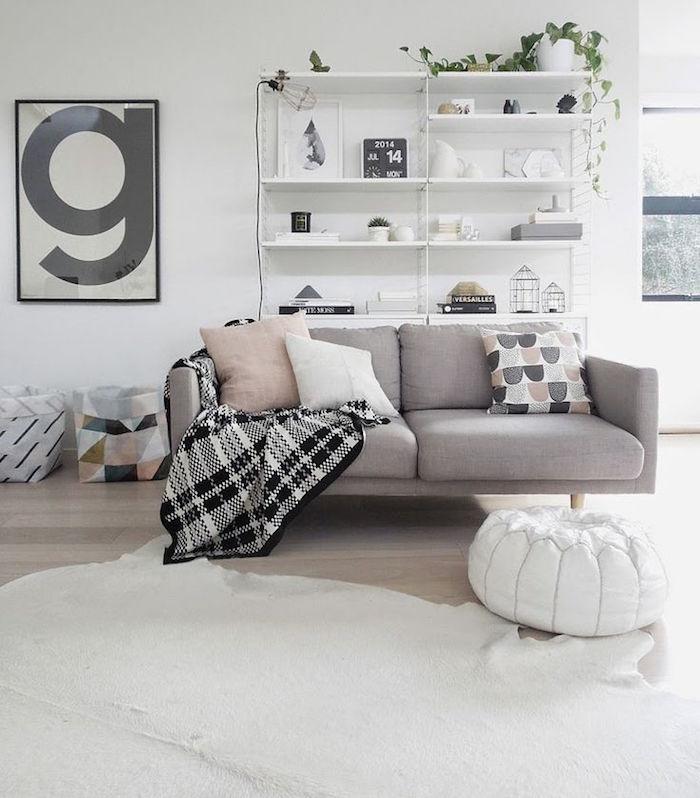 salon deco scandinave ikea motif nordique et meubles nordiques