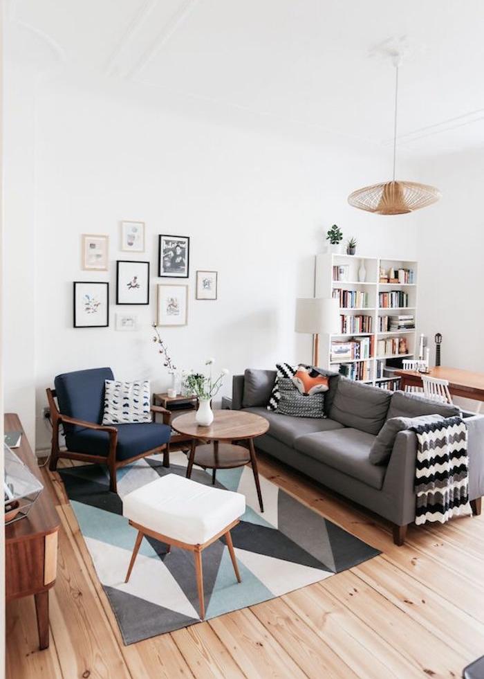motif nordique vintage et meubles nordiques design deco scandinave ikea  suedois Salon
