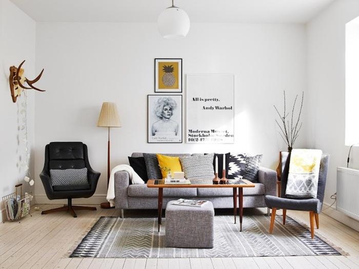 deco esprit scandinave style nordique minimaliste design suédois meubles vintage