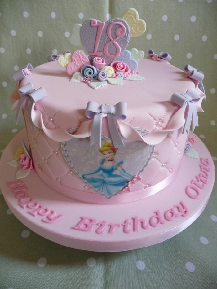 ▷ 1001 + idées pour la décoration du gâteau princesse
