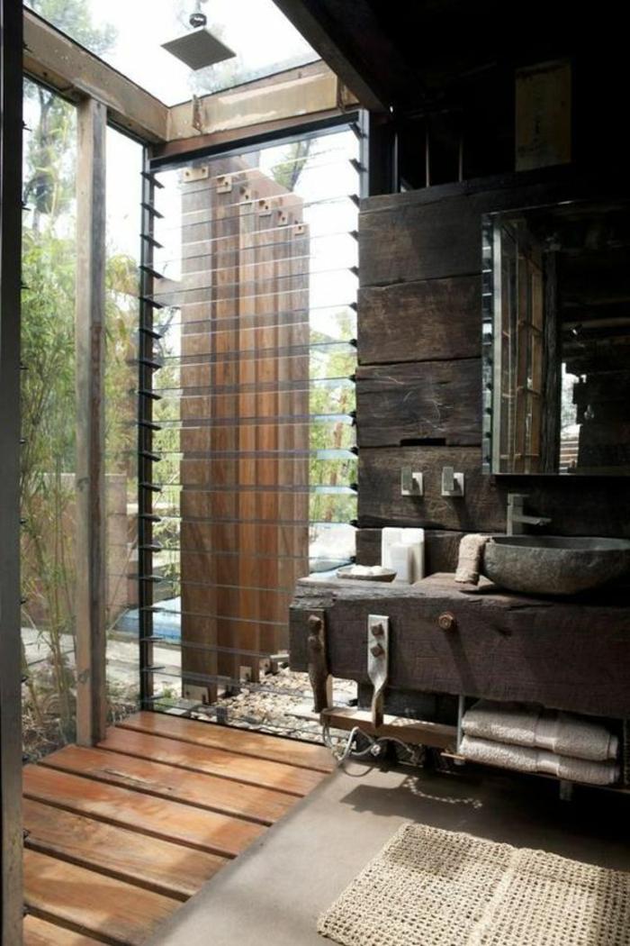 1001 id es pour cr er une salle de bain nature - Vers de salle de bain ...