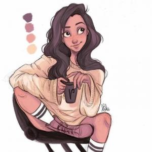 Il est venue le temps pour un dessin fille - voyez les exemples inspiratrices et explorez votre créativité!