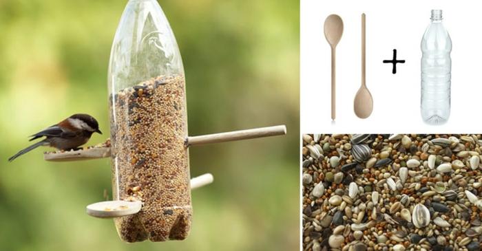 distributeur de graines à fabriquer en un rien de temps avec les enfants