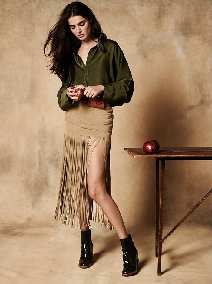 Tendance robes chemises robe col chemise robe saharienne femme