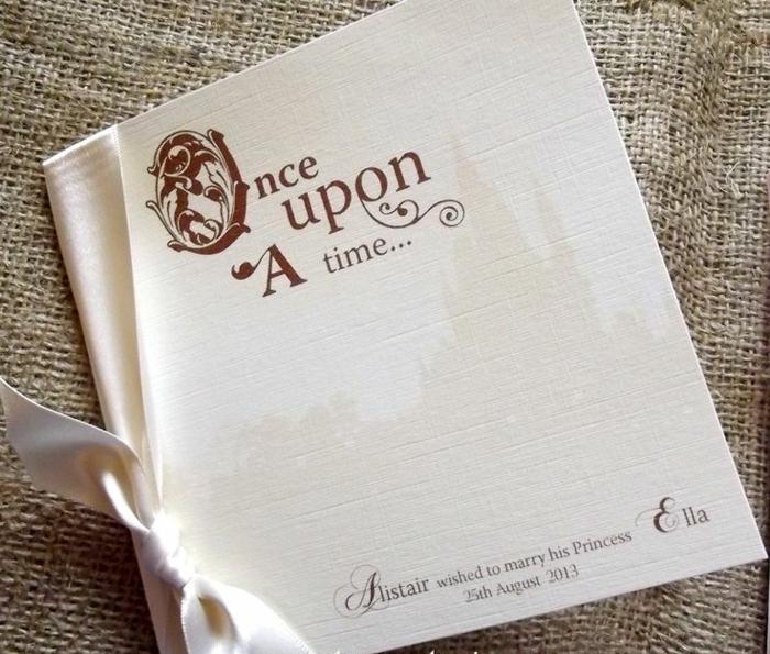 Matrimonio Tema Once Upon A Time : Idées pour le meilleur faire part mariage disney