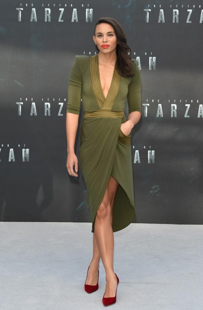 Robe longue chemise robes sahariennes pour femme Tarzan premiere