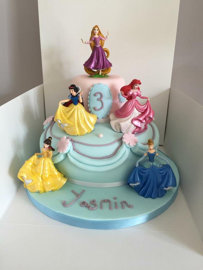 Gâteaux princesse gateau d anniversaire chateau de princesses Disney