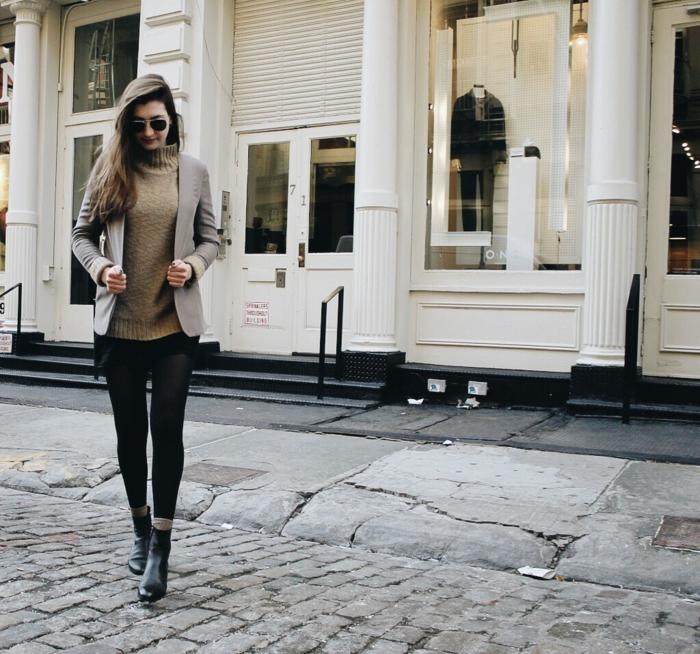 9b7b5299ae6dc5 ▷ 1001 + idées pour une tenue avec bottines chic et décontractée chic