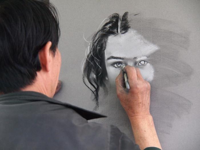 Dessiner une fille de face comment dessiner un visage de fille realiste