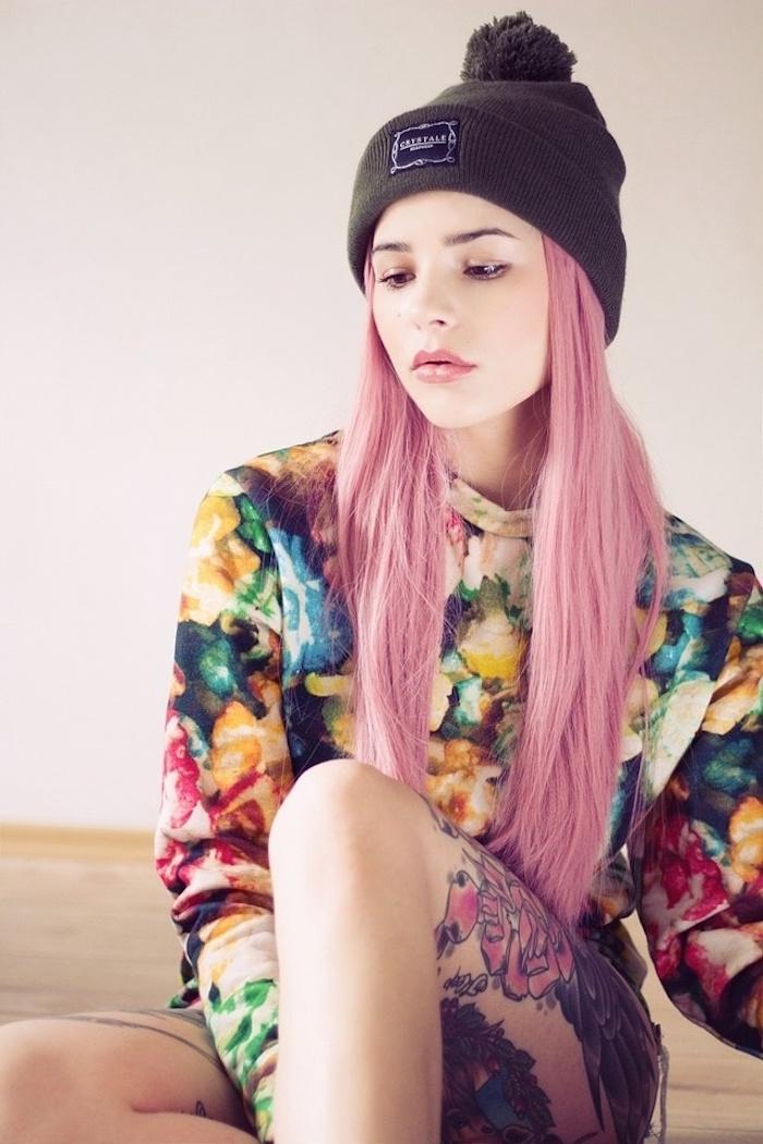 tenue hipster femme tendance vetements à la mode fille