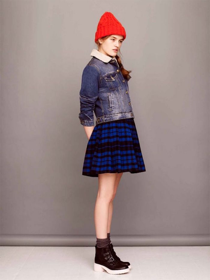 tenue fille style hipster vetements femme mode vintage