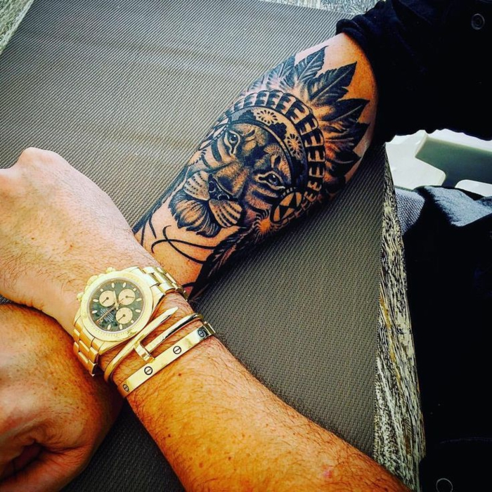 Art tatou forme tatouage patte de lion tatouage roi lion idée tatouage lionne hipster tatou tribal lion