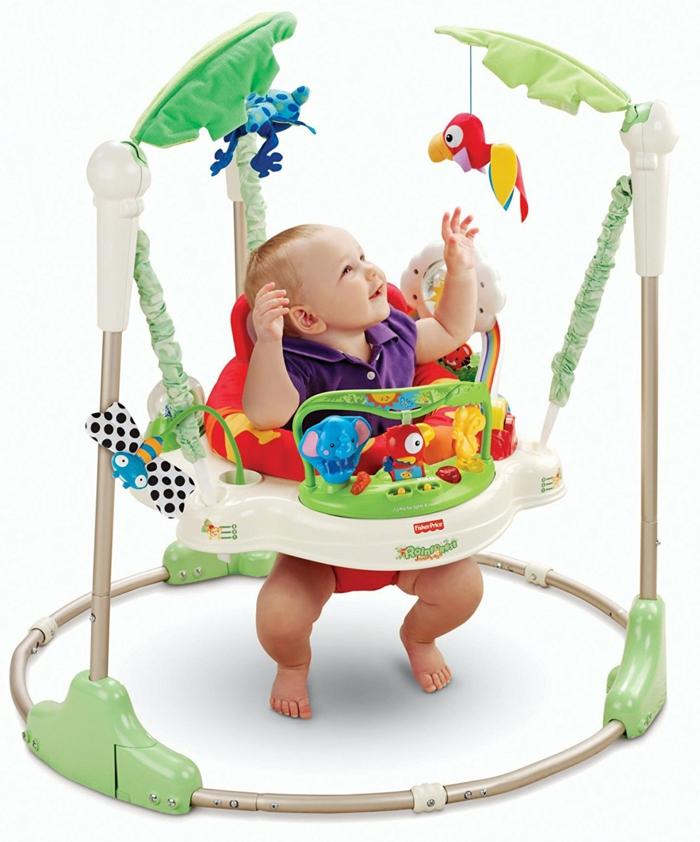 idee cadeau enfant garcon aux motifs jungle avec des perroquets et des papillons jeu d'éveil