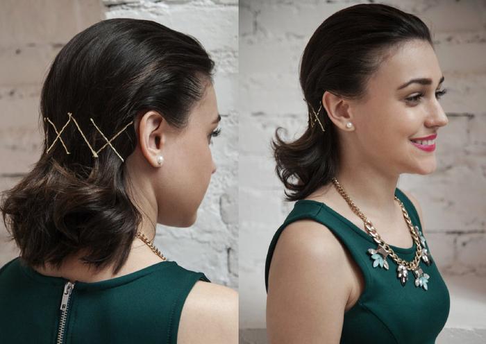 comment coiffer des cheveux courts 70 id es pour une coiffure qui met en valeur les cheveux. Black Bedroom Furniture Sets. Home Design Ideas