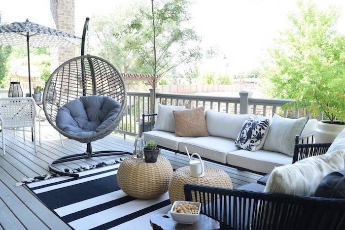 awesome tapis exterieur salon de jardin contemporary awesome interior home satellite. Black Bedroom Furniture Sets. Home Design Ideas
