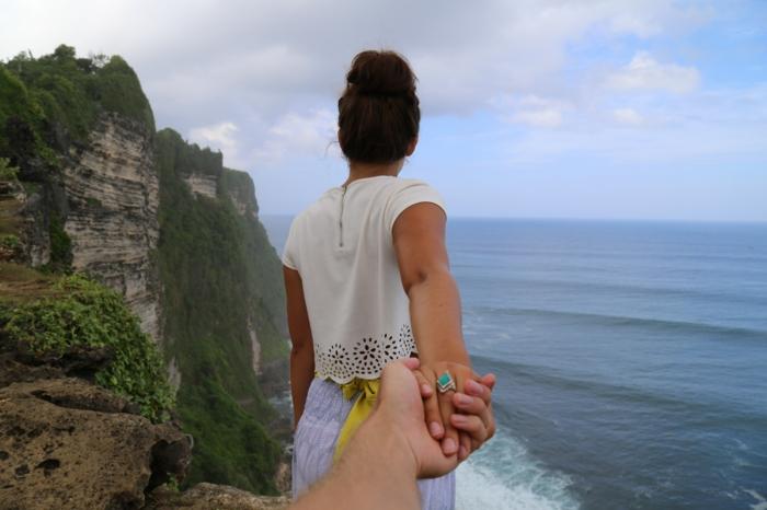Formidable photo couple amoureux photo d un couple image mer photo main originale follow me