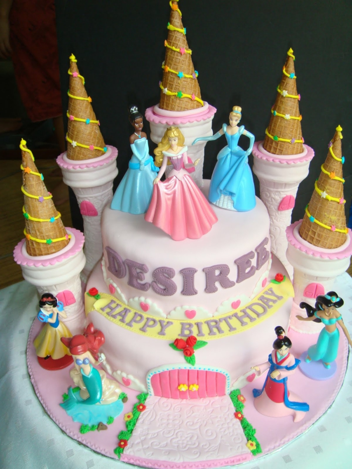 1001 Idées Pour La Décoration Du Gâteau Princesse